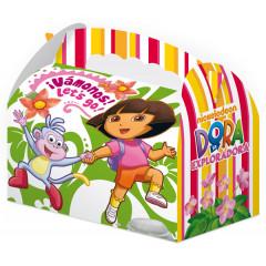 Lot 25 boîtes cartonnées Dora l'exploratrice