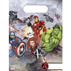 6 Sacs de fête thème Avengers