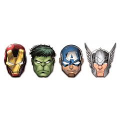 6 Masques Avengers