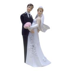 Figurine mariés enlacés