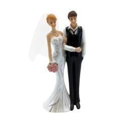 Figurine mariés côte à côte