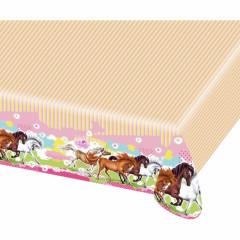 "Nappe anniversaire cheval ""Charming Horses"""