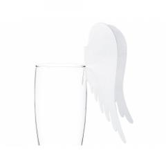 10 marque-places Ailes d'ange pour verre