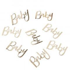 confettis baby or
