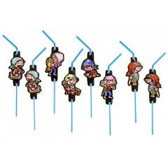 8 pailles pirate