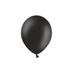 100 ballons noir pastel - 29 cm