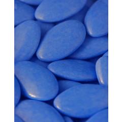 Dragées Pecou chocolat bleu lagon