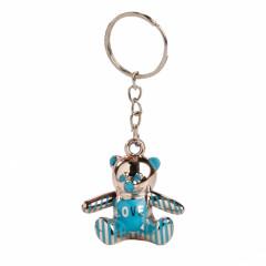 1 Porte clé ourson bleu