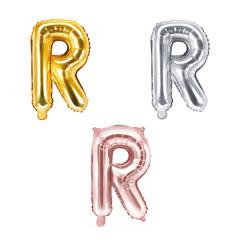 Ballon lettre R - 36cm - coloris au choix