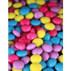 Dragées Confettis chocolat - multicolores