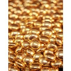 Dragées Confettis chocolat or pour bapteme