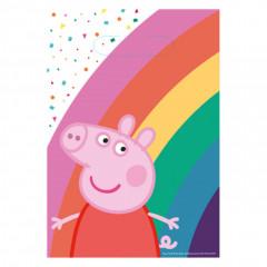 8 Sacs de fête Peppa Pig