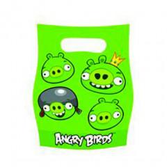Sacs de fête Angry Birds x6