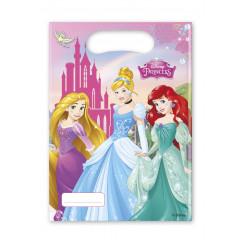 6 sacs de fête – Princesses Disney