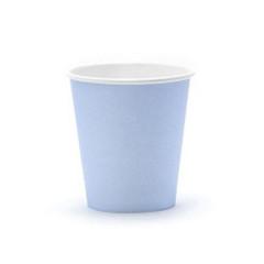 Gobelets en carton bleu