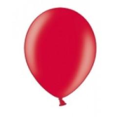 10 ballons rouges métalliques