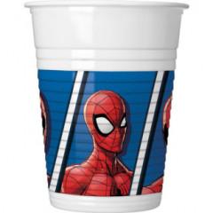 8 Gobelets Spiderman