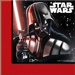 20 Serviettes Star Wars Dark Vador