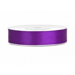 Ruban satin 12 mm - violet