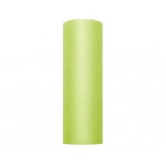 Rouleau de tulle vert - 15 cm x 9 m