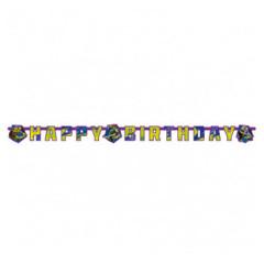 Guirlande anniversaire Tortue