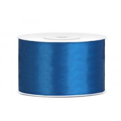 Ruban satin 38 mm - bleu