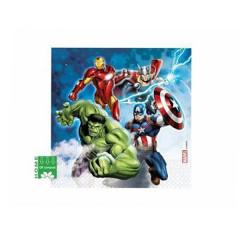x20 Serviettes Avengers compost