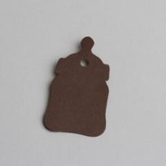 etiquette forme biberon chocolat