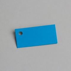 etiquette rectangulaire turquoise