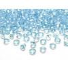 Diamant rond bleu turquoise