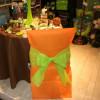 Housses de chaises - x10 - orange