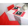 Housses de chaises - x10 - rouge