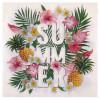 20 serviettes en papier Tropical Paradise à prix discount