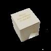 x1 Contenant Cube en bois personnalisé