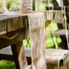 Rouleau jute bordure dentelle - 20cm x 5m - 2