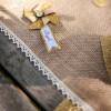 Rouleau jute bordure dentelle - 20cm x 5m - 3
