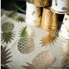 chemin de table lin ananas - 28 cm x 5 m
