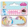 24 Décorations à cupcakes princesses disney