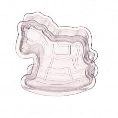 Cheval à bascule en plexi transparent x 6