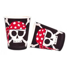 8 gobelets anniversaire - Pirate
