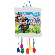 Piñata à tirer 20x30cm – Pirates