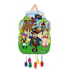 Piñata à tirer 33x46cm – Pirates