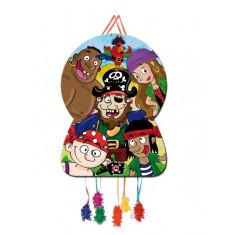 Piñata à tirer 46x65cm – Pirates