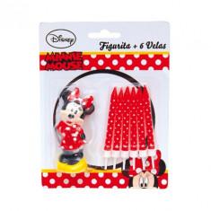 6 bougies et une figurine - Minnie