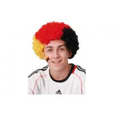 Perruque frisée supporter Allemagne