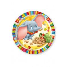 10 assiettes Colourfull Dumbo