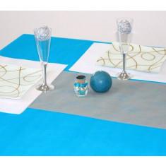 Nappe tissu non tissé - turquoise 1.20 x 10 m