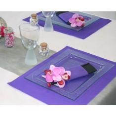 Sets de tables rectangulaires intissés - x50