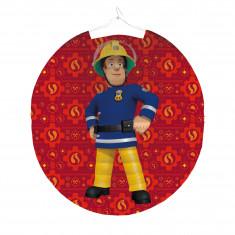 Lanterne anniversaire Sam le Pompier 25 cm