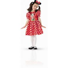 Panoplie et serre-tête Minnie rouge - Boîte vitrine - 5/7 ans